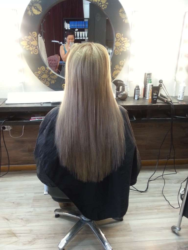 hair extensions blonde