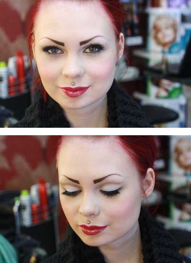 50's pinup makeup retro vintage