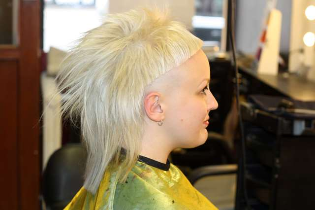 yolandi visser haircut