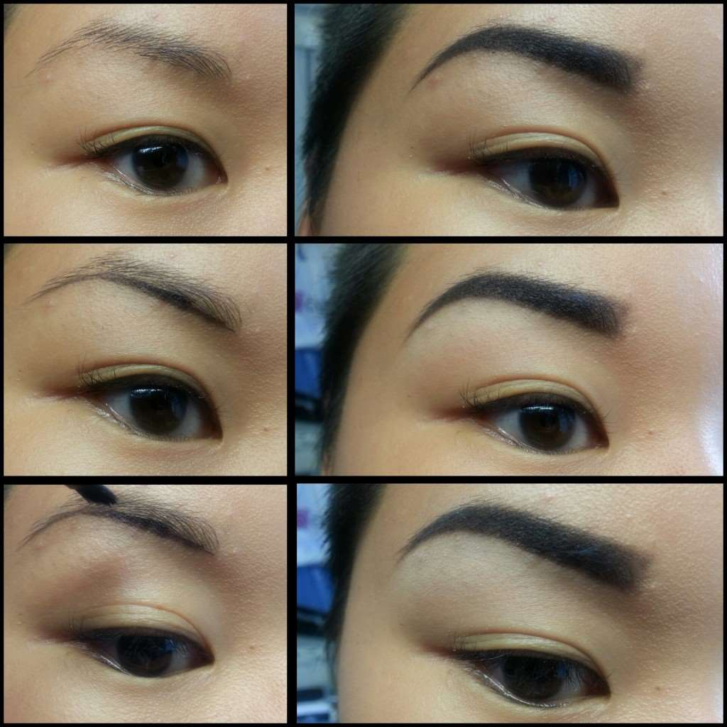 pictorial eyebrows