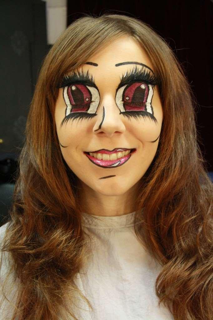 anime makeup