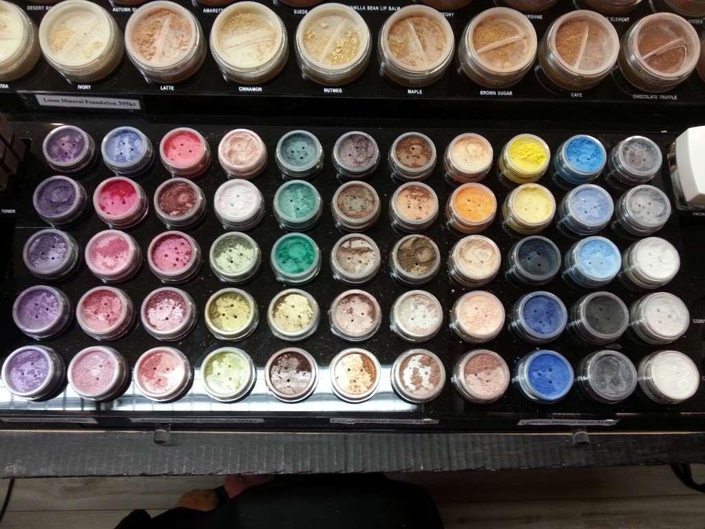 shimmer powders