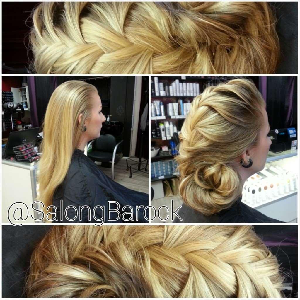 braided hair
